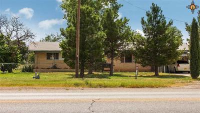 Hobbs Single Family Home Active, U/C-Take Back Ups: 6813 N Dal Paso