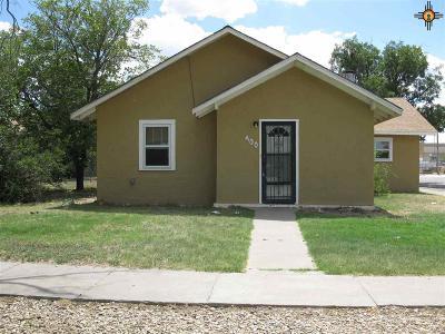Portales Single Family Home For Sale: 400 S Abilene