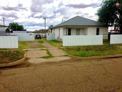 Tucumcari Single Family Home For Sale: 701 S 4th St