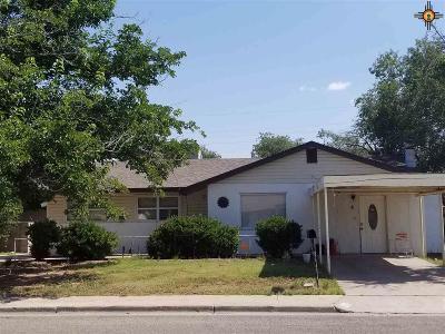 Lovington Single Family Home For Sale: 1005 W Aspen Ave.