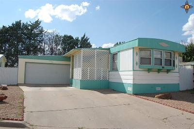 Clovis NM Manufactured Home For Sale: $48,000