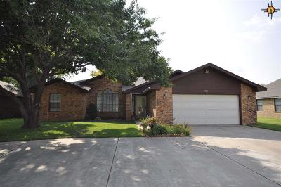 Single Family Home For Sale: 3705 Don January