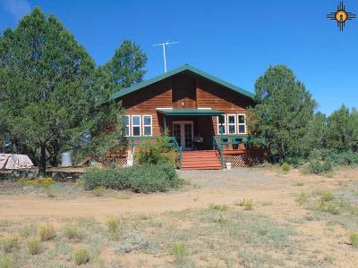 Catron County Single Family Home Under Contract-Don't Show: 57 Buckskin Trail