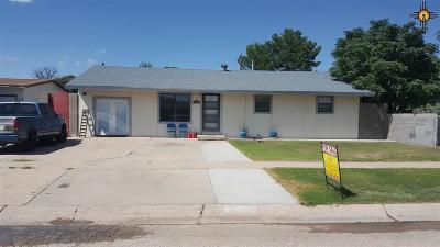 Lovington Single Family Home For Sale: 1106 W Tyler