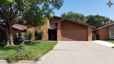 Clovis Single Family Home For Sale: 212 Lakeview Terrace