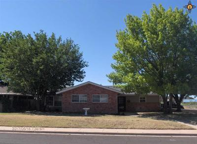 Hobbs NM Single Family Home For Sale: $165,000