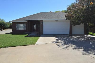 Clovis Single Family Home For Sale: 1324 Fairway Terrace