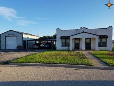 Lovington NM Single Family Home Active, U/C-Take Back Ups: $90,000