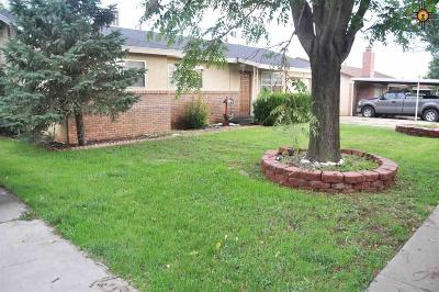 Clovis Single Family Home For Sale: 1609 Hull