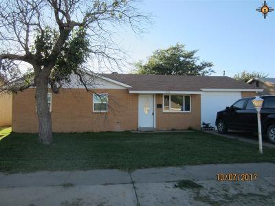 Portales Single Family Home For Sale: 1708 S Globe
