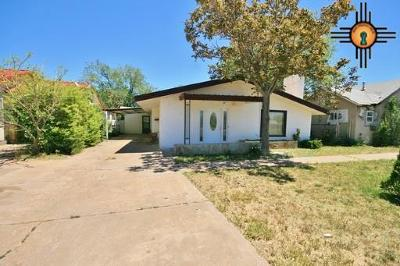 Clovis NM Single Family Home For Sale: $60,000
