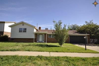 Clovis NM Single Family Home For Sale: $147,000