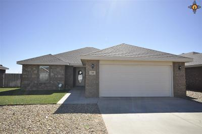 Clovis NM Single Family Home For Sale: $185,000