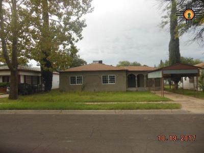 Hobbs Single Family Home For Sale: 1207 E Pecos Dr.