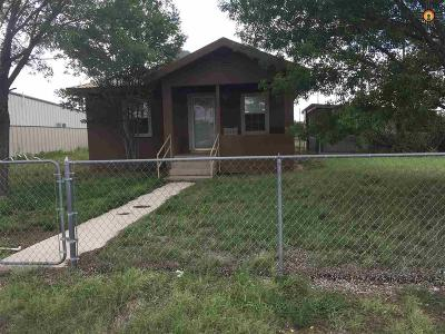 Eunice NM Single Family Home For Sale: $120,000