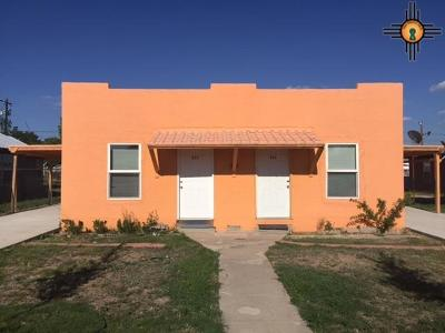 Lovington Single Family Home For Sale: 211-213 S 2nd