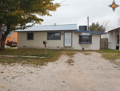 Lovington Single Family Home For Sale: 603 N 1st St.