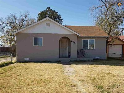 Clovis Single Family Home For Sale: 816 N Edwards