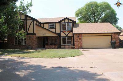 Clovis Single Family Home For Sale: 409 Diamondhead