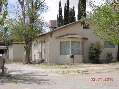 Deming Single Family Home For Sale: 314 S Zinc