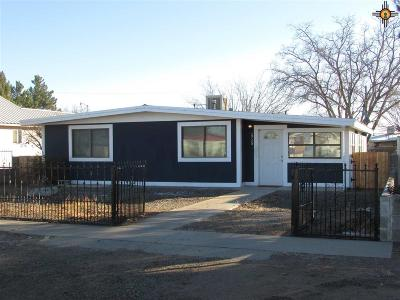Deming Single Family Home For Sale: 1715 S Nickel St