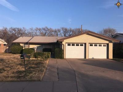 Portales Single Family Home For Sale: 205 Utah Drive