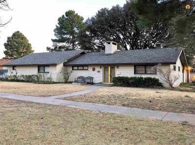 Lovington Single Family Home For Sale: 1017 W Ave. J