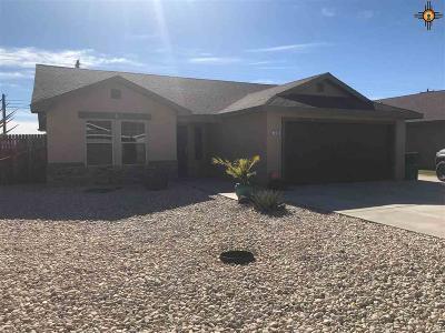 Lovington Single Family Home For Sale: 1209 Carter Ave