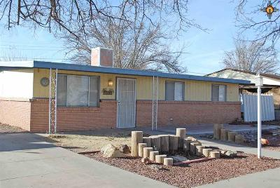Deming Single Family Home For Sale: 1508 S Emerson