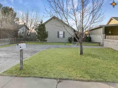 Lovington Single Family Home For Sale: 817 W Adams