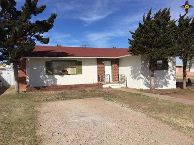Tucumcari Single Family Home For Sale: 1201 S 5th Street