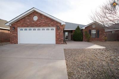 Portales Single Family Home For Sale: 2116 Hayes