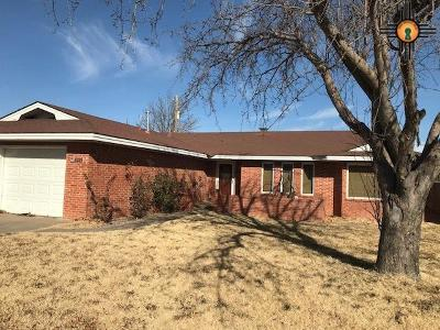 Portales Single Family Home For Sale: 1209 Libra Dr