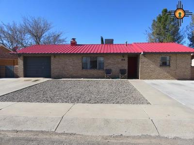 Deming Single Family Home For Sale: 1016 S Mallery