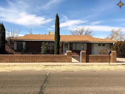 Deming Single Family Home For Sale: 1208 S Tennyson Drive