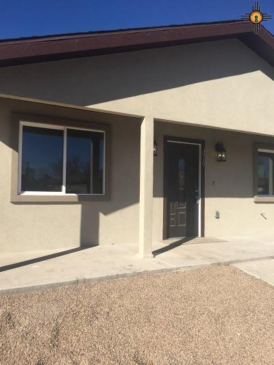 Hobbs NM Single Family Home For Sale: $218,000