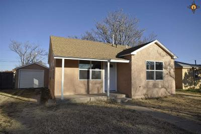 Clovis NM Single Family Home For Sale: $57,900
