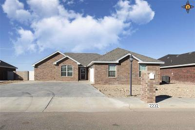 Portales Single Family Home For Sale: 2232 Boxwood