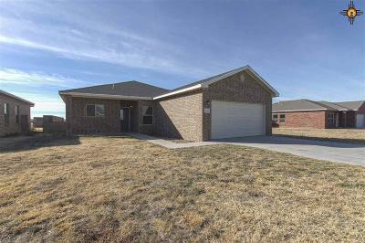 Portales Single Family Home For Sale: 1829 Dillonwood