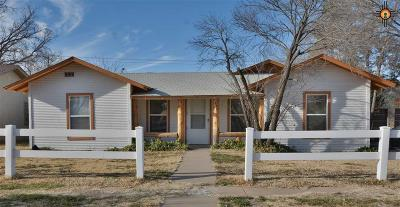 Portales Single Family Home For Sale: 814 S Abilene