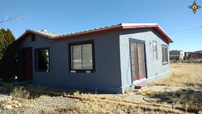 Sierra County Single Family Home For Sale: 908 Myrtle