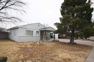 Lovington Single Family Home For Sale: 1312 S 9th Street