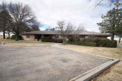 Lovington Single Family Home Under Contract-Don't Show: 197 Plains Hwy
