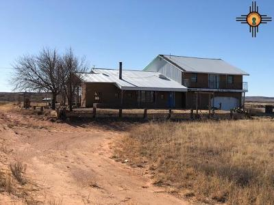 Tucumcari Single Family Home For Sale: 4282 Zuni Street