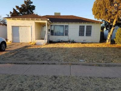 Hobbs NM Single Family Home For Sale: $69,900