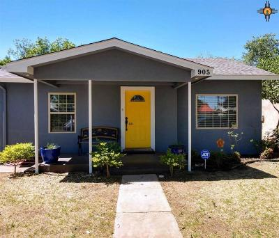 Portales Single Family Home For Sale: 905 W 17th St