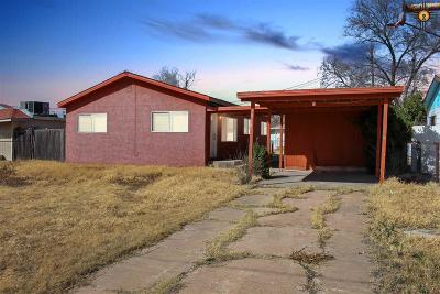 Lovington Single Family Home For Sale: 1014 W Gore Ave
