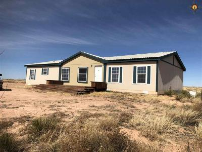 Tucumcari Single Family Home For Sale: 3634 Quay Rd. 64