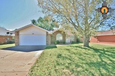 Clovis Single Family Home For Sale: 3817 Lew Wallace