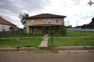Tucumcari Single Family Home For Sale: 612 East Aber
